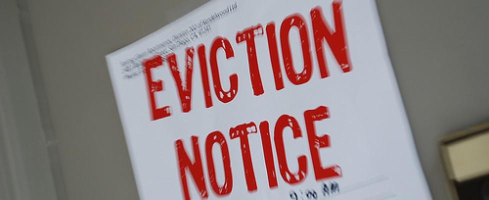 Ban on evictions during coronavirus